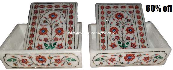 Marble Inlay Combo Box 60%off