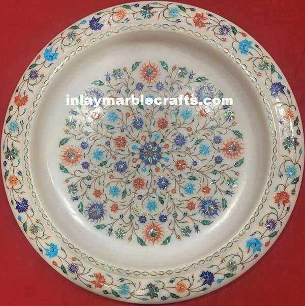 PIETRA,DURA MARBLE INLAID EXCLUSIVE WORK FRUITS BALL