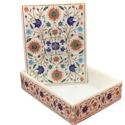 Marble Jewelry Box For Gifts