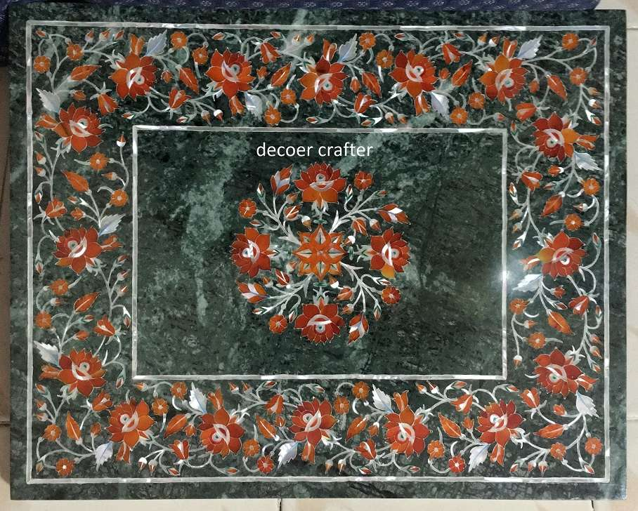 Indian Marble Inlaid Table tops