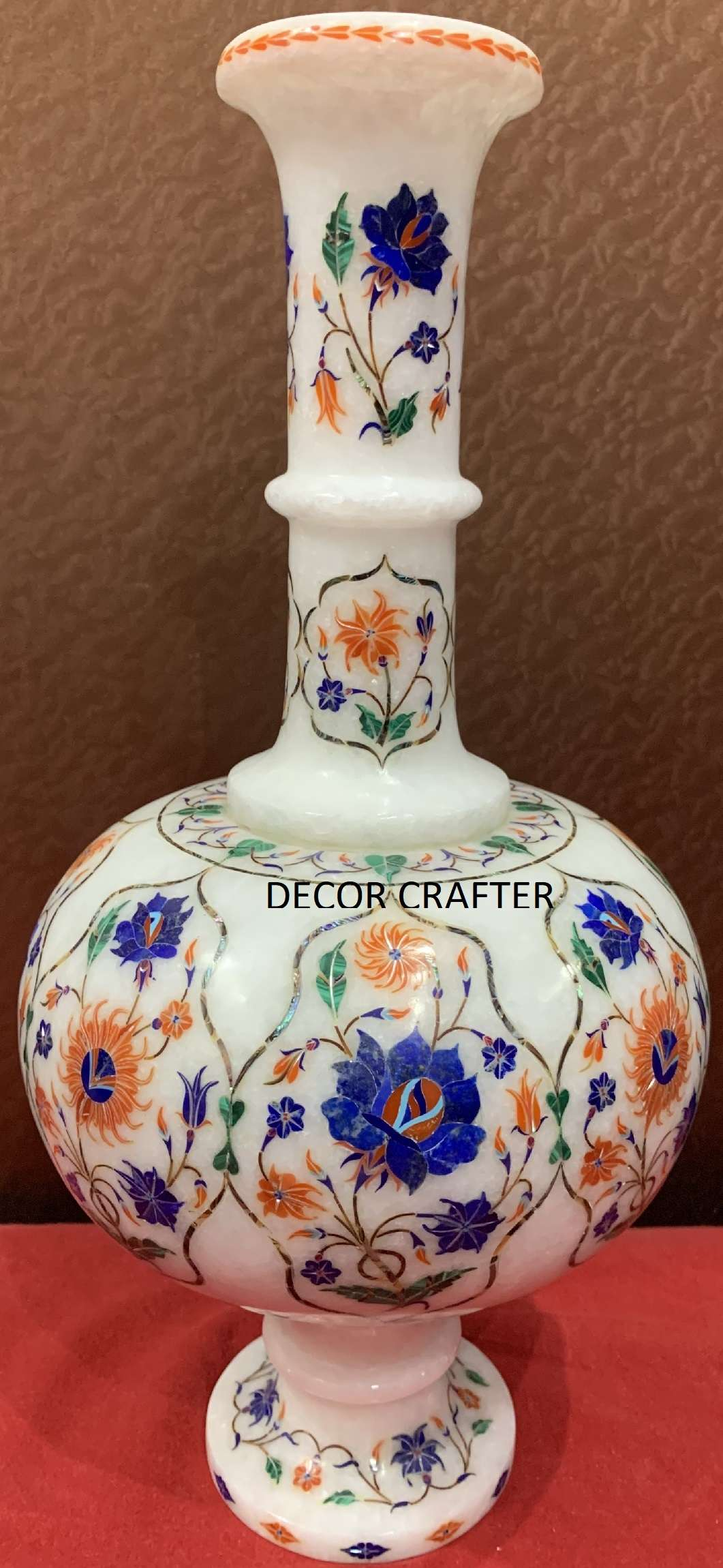 Marble Inlay Flower Vase Items For Gifts